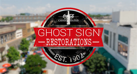 Coca-Cola Ghost Sign Restorations | Hendersonville