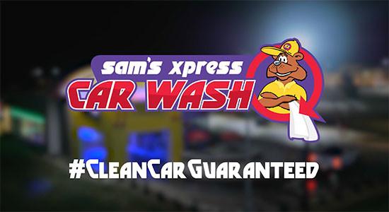 Sam's Xpress Wash : Night Promo