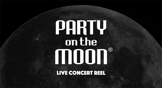 Party on the Moon Live Show Reel