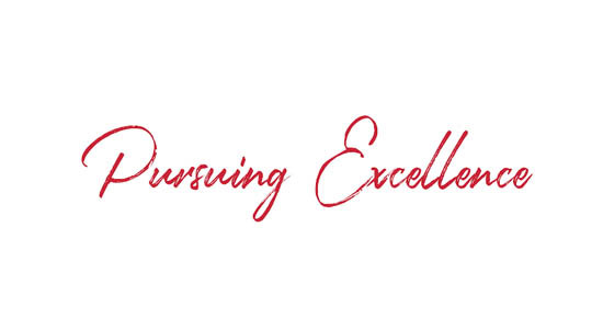 Executive Message – Pursuing Excellence