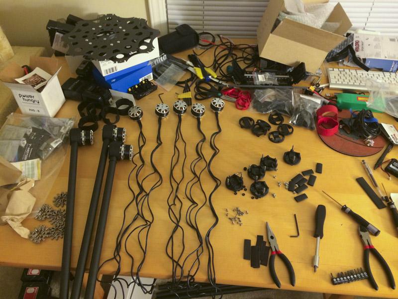 nowsay skyjib drone parts
