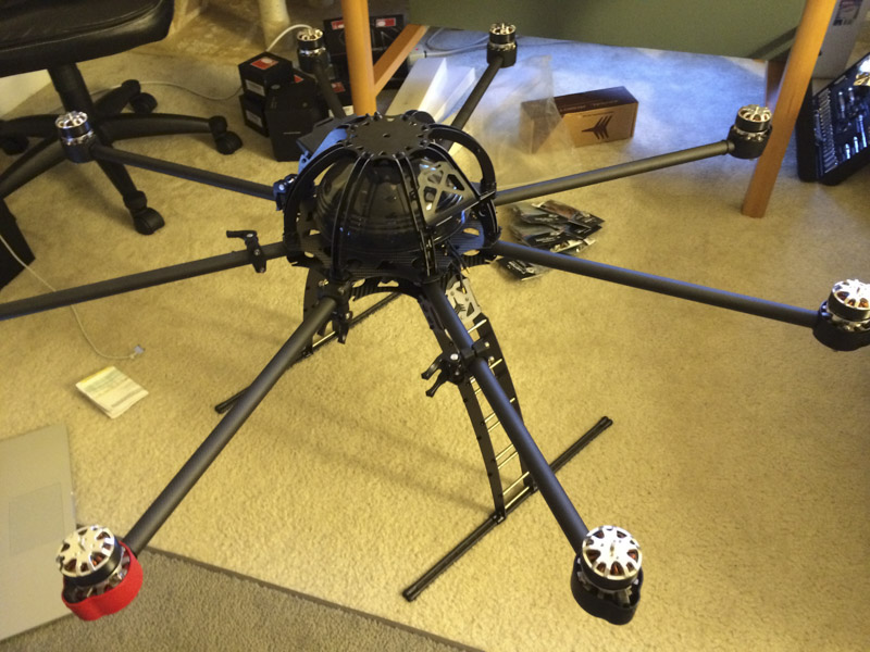 nowsay skyjib frame build