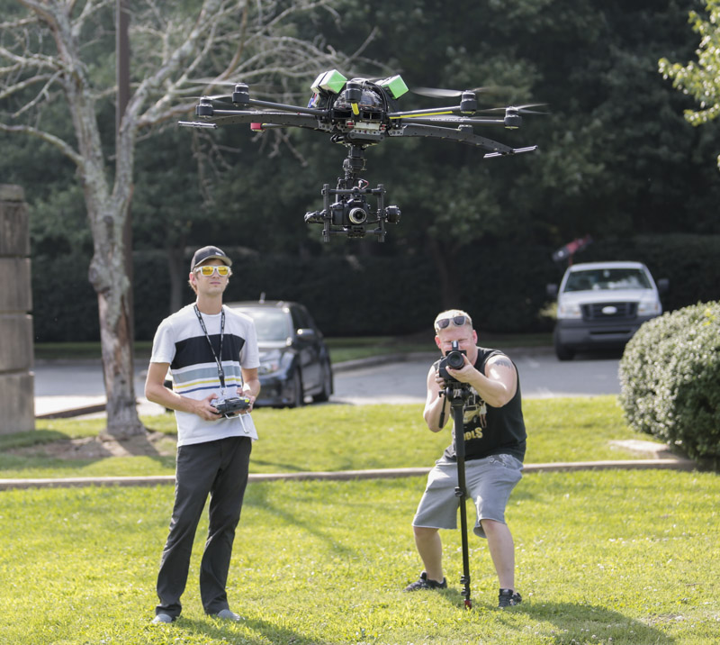 nowsay zach flying skyjib drone