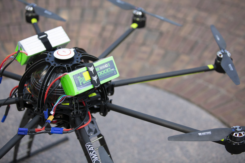 nowsay skyjib drone batteries and prop arms